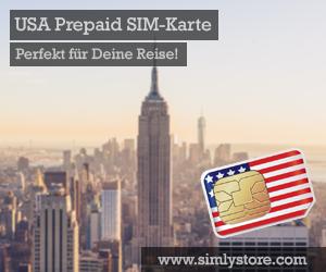 USA Prepaid SIM-Karte von Simlystore