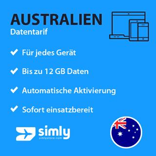 Australien Daten SIM-Karte