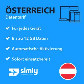 Österreich Daten SIM-Karte