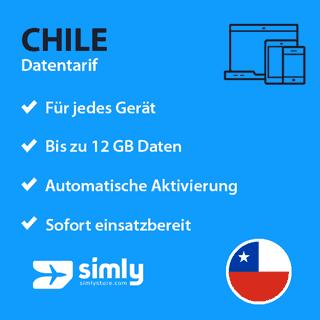 Chile Daten SIM-Karte