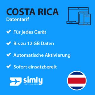 Costa Rica Daten SIM-Karte