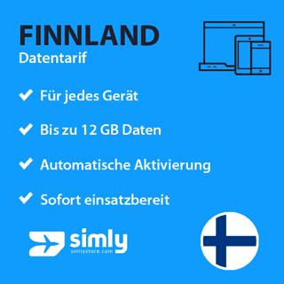 Finnland Daten SIM-Karte