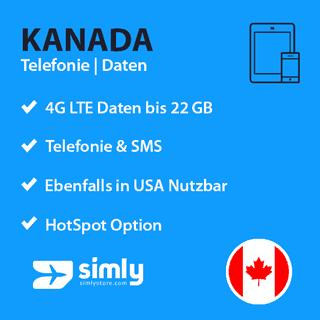Kanada SIM-Karte