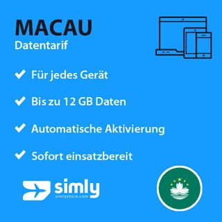 Macau Daten SIM-Karte