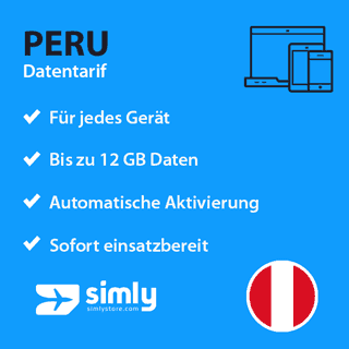 Peru Daten SIM-Karte