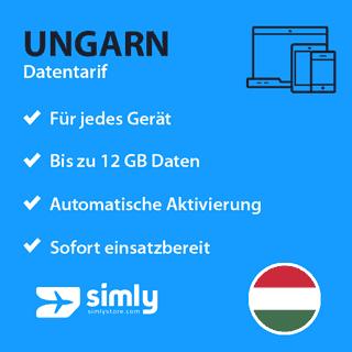 Ungarn Daten SIM-Karte
