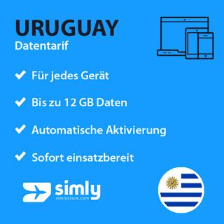 Uruguay Daten SIM-Karte
