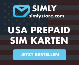 USA SIM-Karte bestellen
